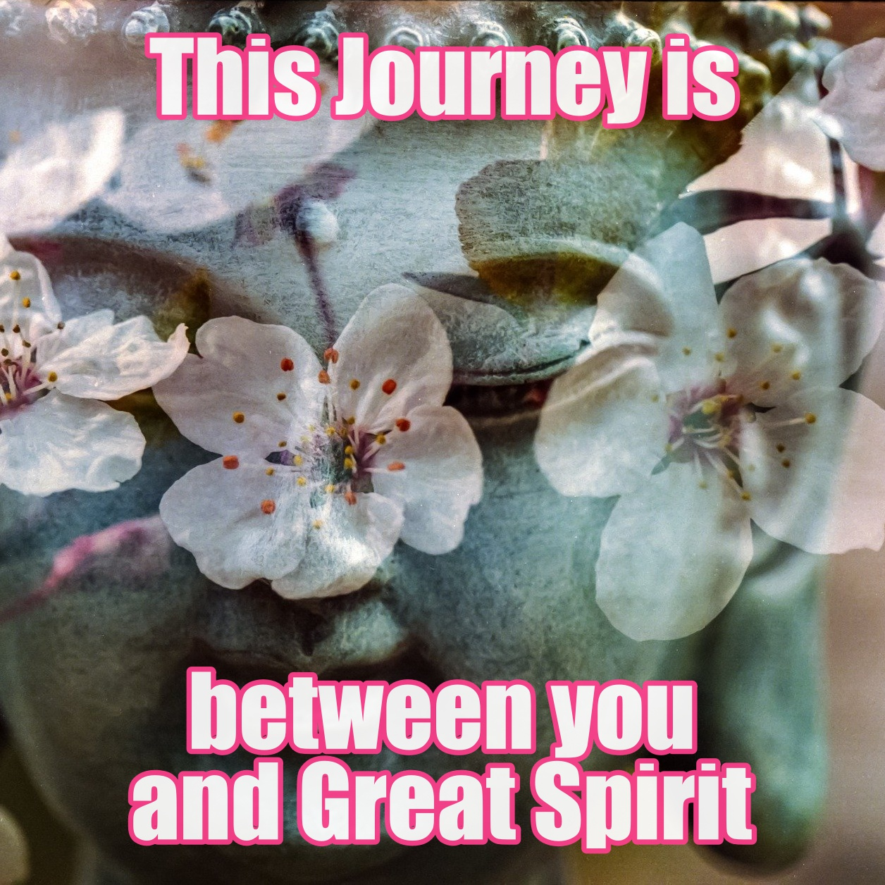 THIS JOURNEY IS BETWEEN YOU & GOD/DIVINE/GREAT MOTHER